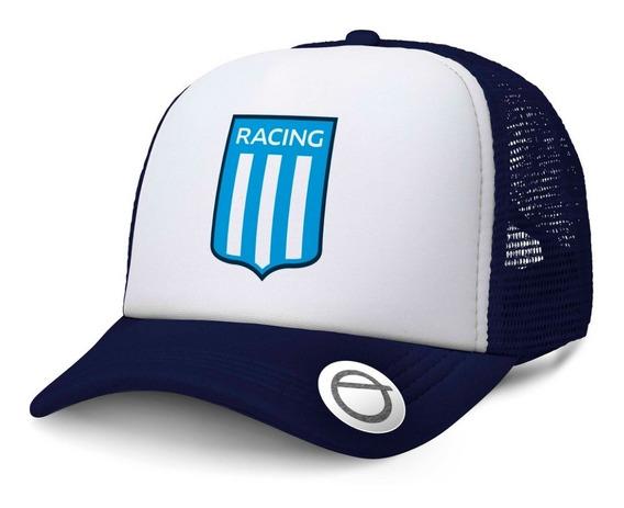 Racing Club Gorra Trucker Racing Futbol Guardia Imperial