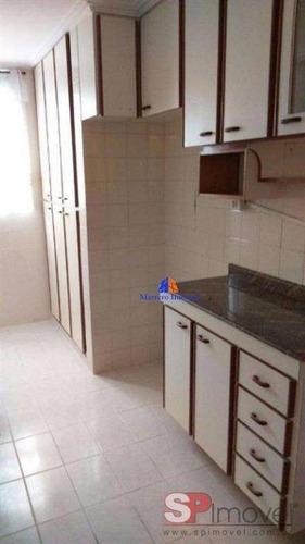 Imagem 1 de 10 de Apartamento Com 2 Dormitórios À Venda, 49 M² Por R$ 215.000 - Jardim Antártica - São Paulo/sp - Ap5397v