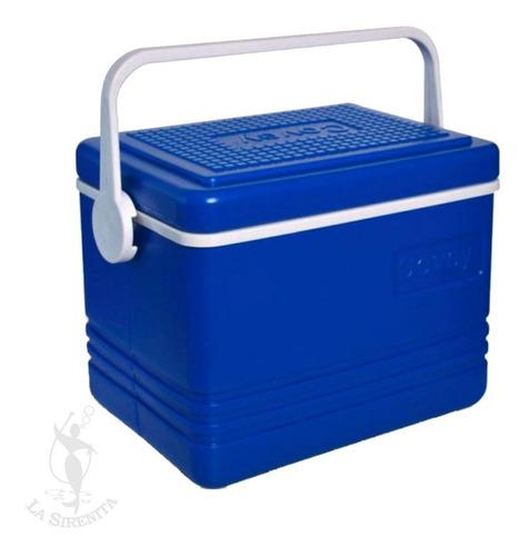 Vianda Escolar Azul Con Acumulador Térmico 4 Litros Covey