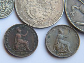 Lote Antiguas Y Escasas Monedas De Gran Bretaña Jorge Iv