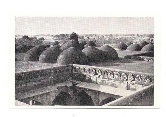 Antigua Postal Foto Delhi Khirki Masjid Mesquita India 527