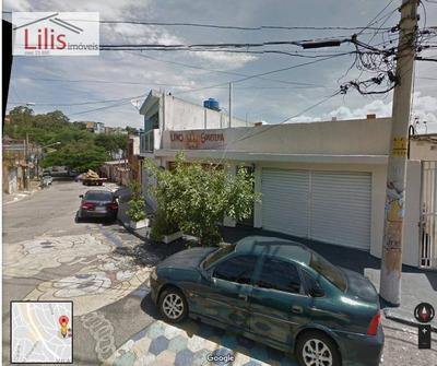 Casas + 2 Salões Para Renda Vila Cisper - Estuda Permuta- - Ca0022