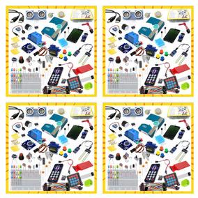 4x Kit Arduino Educacional Completo