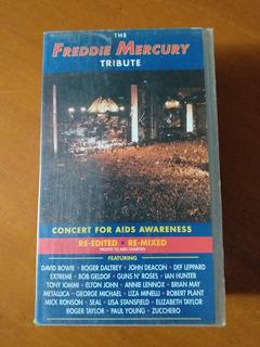 The Freddie Mercury Tribute Doble Vhs Importado