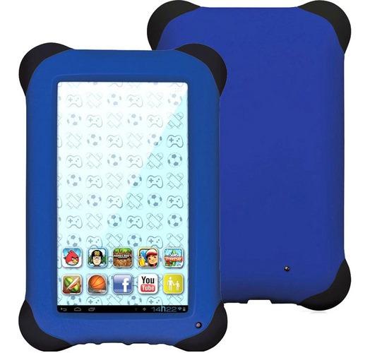 Tablet Multilaser Kid Pad Nb081 Com Tela 7 Azul
