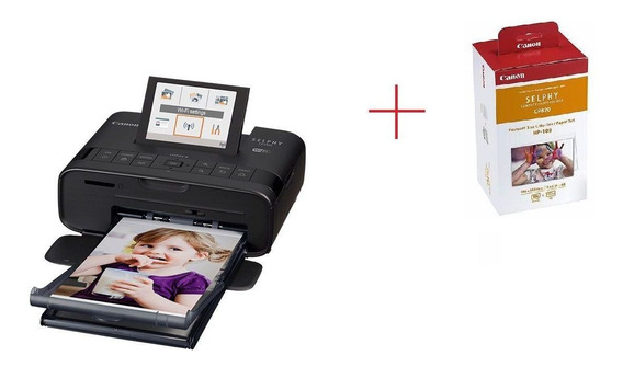 Impressora Canon Selphy Cp1300 + Kit Cartucho Com 108 Papeis