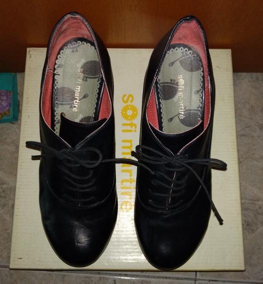 Zapatos De Cuero Usados. Excelente Estado