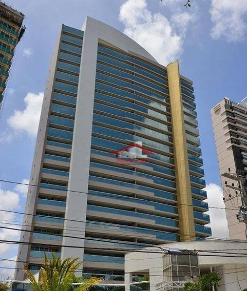 Apartamento Com 4 Dormitórios À Venda, 245 M² Por R$ 2.203.200,00 - Guararapes - Fortaleza/ce - Ap0624