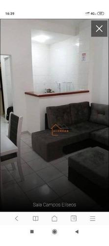 Imagem 1 de 11 de Apartamento Com 1 Dormitório À Venda, 54 M² Por R$ 255.000,00 - Centro Histórico De São Paulo - São Paulo/sp - Ap0137