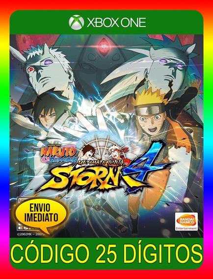 Naruto Ultimate Ninja Storm 4 Xbox - 25 Dígitos (envio Já)