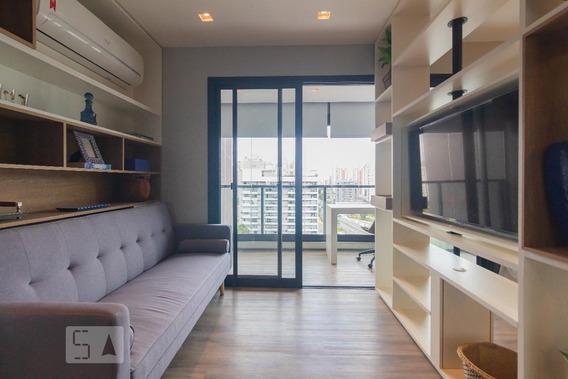 Apartamento Para Aluguel - Brooklin, 1 Quarto, 38 - 893037230