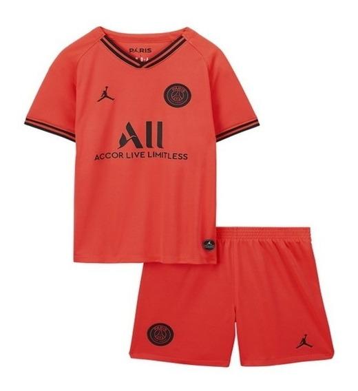 Cojunto Infantil Psg 2019- 2020 Camisa+short