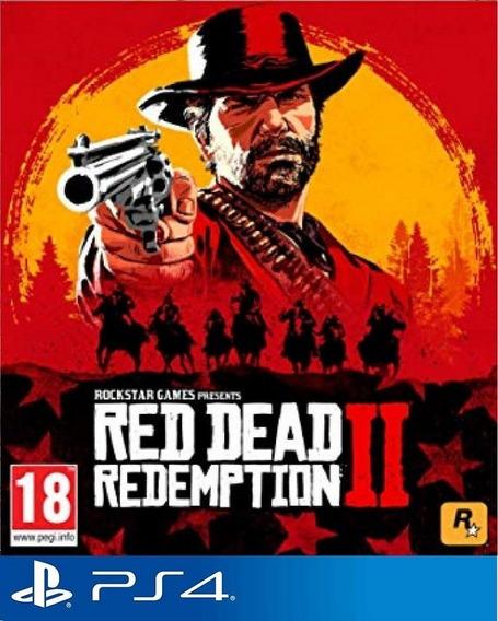 Red Dead Redemption 2 - Playstation 4 Envio Hoje Code 1