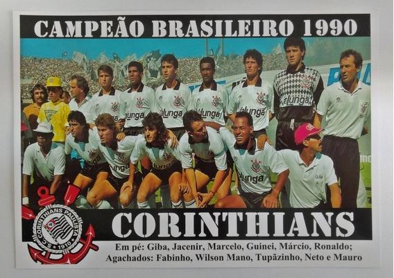 Poster Do Corinthians - Campeão Brasileiro 1990