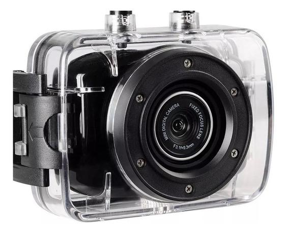 Câmera E Filmadora Onn 5mp Hd Lcd2 Preta Lacrada
