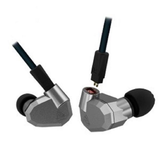 Fone In Ear Kz Zs5 Quad-driver Com Mic Retorno Monitor Palco
