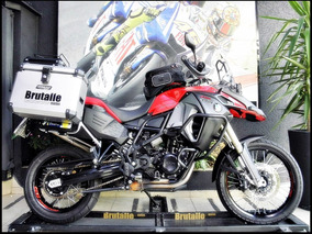 Bmw F800gs Adventure 2014 Vermelha