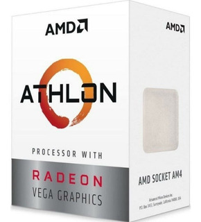 Procesador Micro Amd Athlon 3000ge Am4 Radeon Vega 3 Tranza