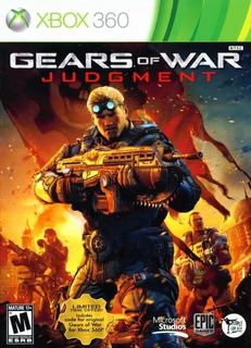 Gears Of War Judgment Xbox 360 Original Usado Español Fisico