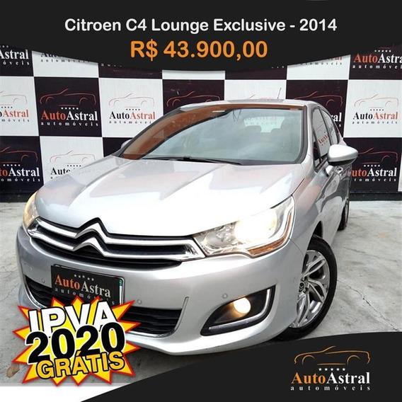 Citroen C4 Lounge Exclusive 1.6 Thp (aut) Gasolina Automát