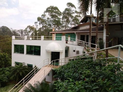 Casa Com 4 Dormitórios, 504 M² - Venda Ou Aluguel - Capital Ville - Jundiaí/sp - Ca0153