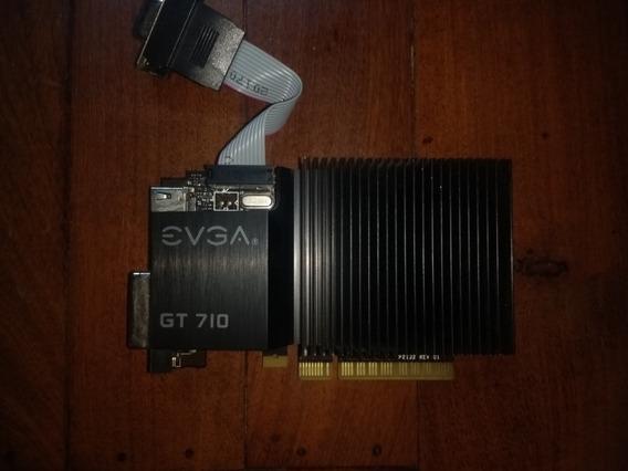 Tarjeta Grafica Nvidia Gt710 Evga 2gb