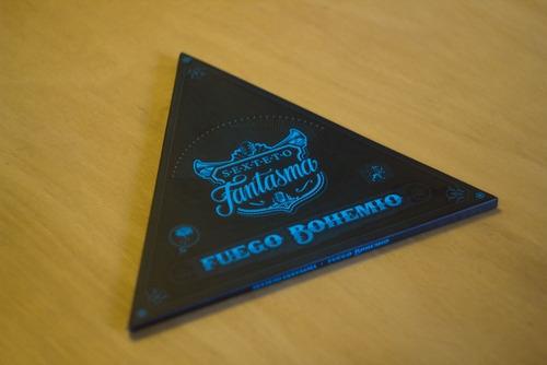 Sexteto Fantasma - Cd Álbum  Fuego Bohemio