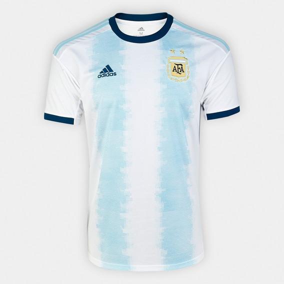 Camisa Argentina Azul Away( 19-2020) Nova Pronta Entrega