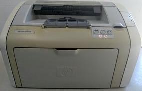 Impressora Hp Laserjet 1020 + Tonner Laser Funcionando Bem