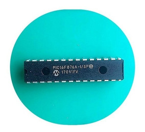 Microcontrolador Pic16f876a Pic16f876 (5 Unidades)