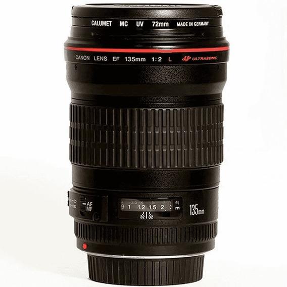 Lente Canon Ef 135 Mm F2.0 L Usm - Imperdível !!!