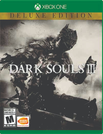 Dark Souls Iii-deluxe Edition Xbox One Mídia Digital+2 Jogos