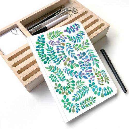 Cuaderno Rayado Ramitas A5 - Mil Letterpress
