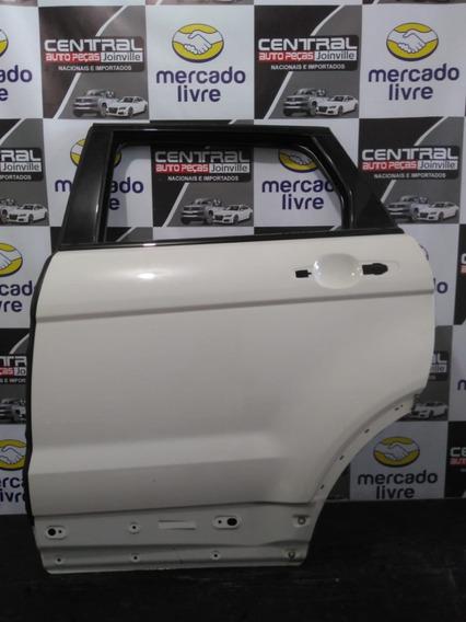 Porta Traseira Esquerda Branca Land Rover Evoque