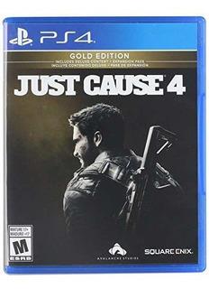 Juego Just Cause 4 Gold Edition Para Playstation 4 Sellado