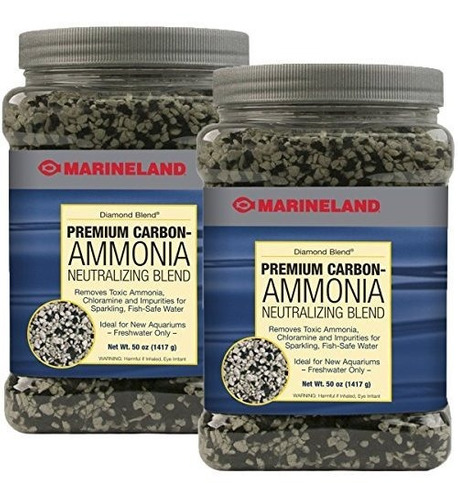 Carbón Neutralizador De Amoníaco Marineland Diamond Blend (1