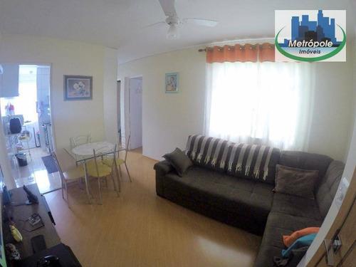 Apartamento À Venda, 56 M² Por R$ 164.900,00 - Vila Nova Bonsucesso - Guarulhos/sp - Ap0152