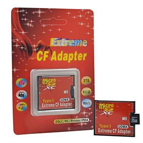 Adaptador Compact Flash Cf Para Microsd
