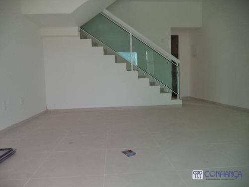 Casa Com 3 Dormitórios À Venda, 85 M² Por R$ 400.000,00 - Campo Grande - Rio De Janeiro/rj - Ca0369