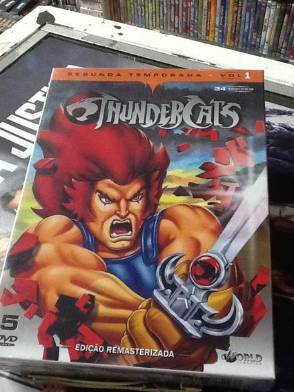 Dvd Thundercats 2ª Temporada Vol. 01 05 Discos
