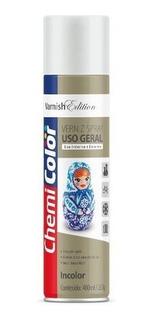 Tinta Spray Brilhante Uso Geral Multiuso 400ml Chemicolor