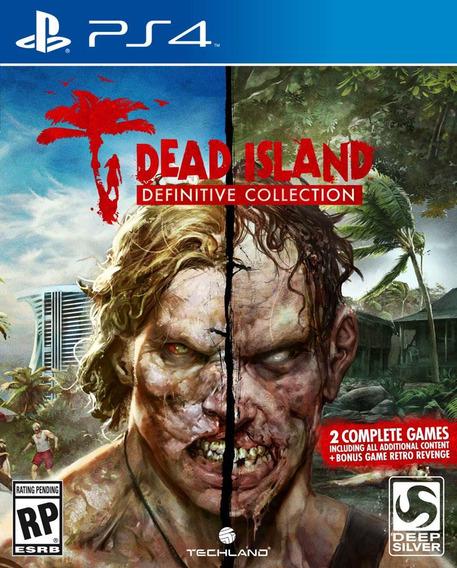 Dead Island Definitive Collection Ps4 Lacrado