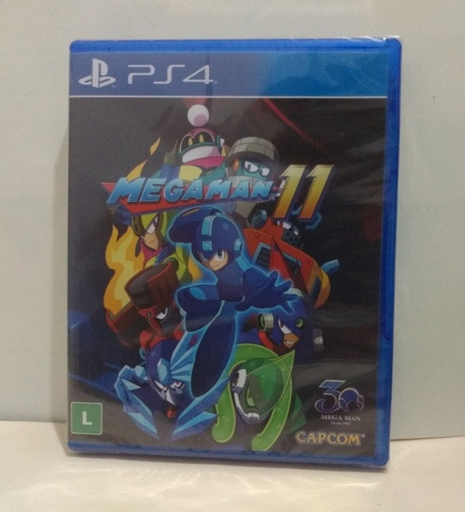 Mega Man 11 Ps4 Mídia Física Lacrado