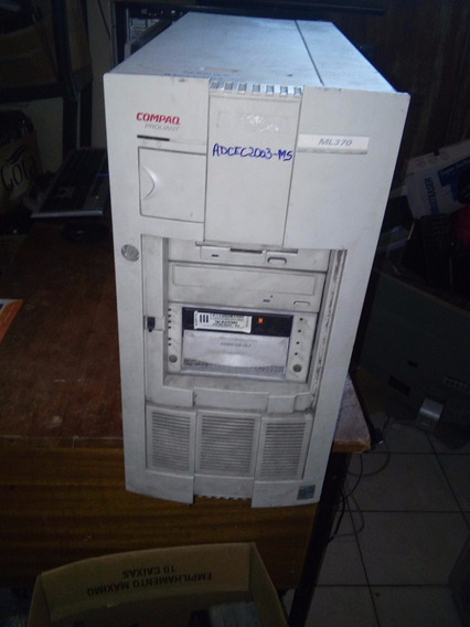 Servidor Compaq Proliant Ml370 - Completo, 6x 36.4gb + Hd So