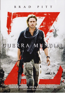 Guerra Mundial Z World War Z Brad Pitt Pelicula Dvd