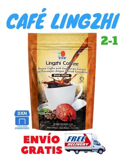 Dxn Café Orgánico Con Ganoderma Lingzhi 2-1 Envío Gratis