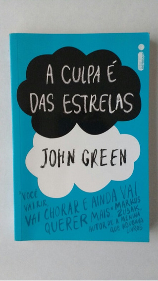 Livro A Culpa É Das Estrelas John Green Frete Grátis