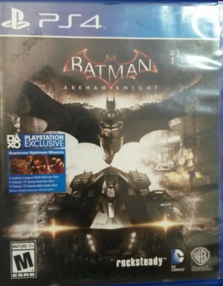 Batman Arkham Knight Portugues Ps4 Usado Envio Imediato