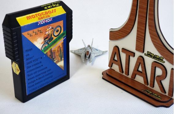 Xonox Motocross Racer Single-ender [ Atari 2600 ] Raríssimo