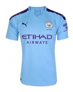 Camisa Puma Manchester City I Oficial Nota Fiscal 755586